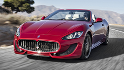 Location Maserati Grancabrio S