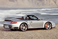 Location Porsche 997 Trurbo Cabriolet